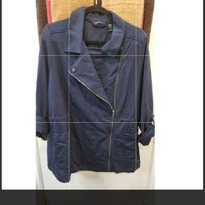 H by Halston Moto Jacket